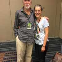 Clay and Susan Griffith at Supercon